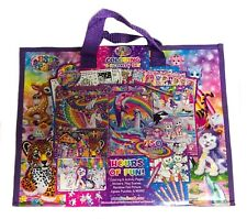 Lisa Frank Coloring Activity Set With Fold out Storage Case ...