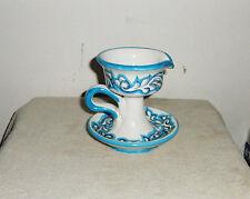 Candelabro in ceramica Vietrese alt. cm. 15