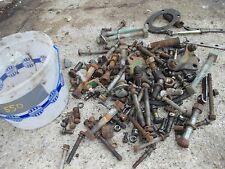 Oliver 550 tractor BOX of bolts nuts washers pieces & parts