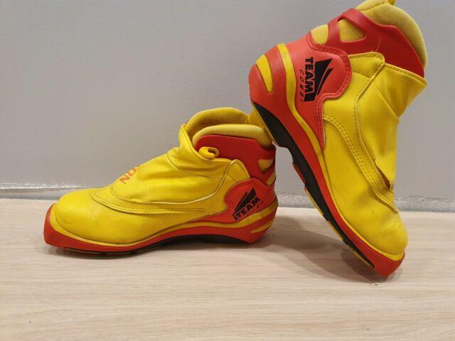 SALOMON Team Combi Nordic Cross Country Ski Boots Size EU37 SNS Profil fs48U