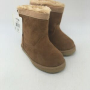 Western Chief Girls Casual Low Top Makena Peanut Brown Flat Boots Size 12