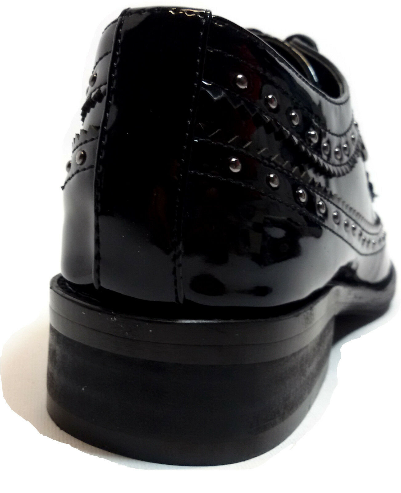 LAURA BIAGIOTTI Schuhe INGLESE Damens FRANCESINE VERNICE NERO INGLESE Schuhe BORCHIE - 1583 d525ff