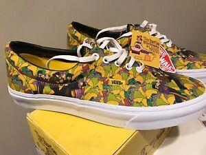 Vans Era Garden The Beatles Yellow Submarine $170 | eBay