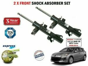 2x-FRONT-SHOCK-ABSORBERS-for-MAZDA-3-1-6-2-0-2-2-2-3-MZR-CD-MPS-Turbo-2008-2014