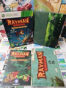 Xbox-360-Rayman-Origins-Edition-Collector-TOP-UBISOFT-COMPLET-Fr