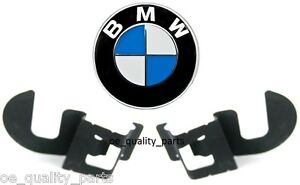 OE-Genuine-BMW-3-E46-2x-Rear-Right-amp-Left-Side-Bumper-Holder-Bracket-Clip-Mount