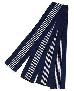 Navy-Blue-Men-039-s-Cotton-Tanzen-Obi-for-Yukata-Kimono-Made-in-Japan-Width-5cm
