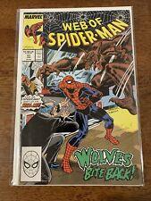 USA, 1989 Web of Spiderman # 51