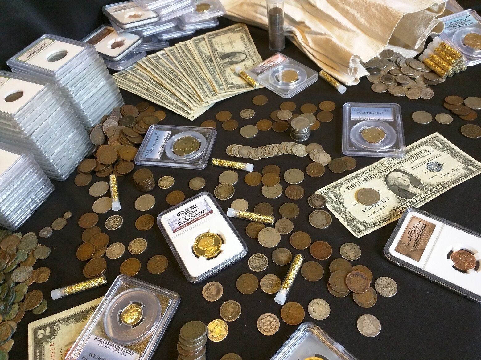 ESTATE LOT OF SILVER CURRENCY MINT SET// PROOF SETS //Bullion Silver COINS