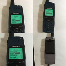 CELLULARE ERICSSON R320 GSM GRIGIO GREY VINTAGE UNLOCKED SIM FREE DEBLOQUE