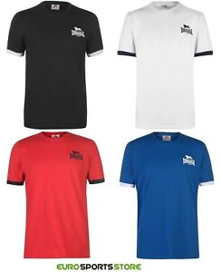 NEW-Lonsdale-Mens-Small-Logo-T-Shirt-Size-S-M-L-XL-2XL-3XL-4XL-Sports-Fashion