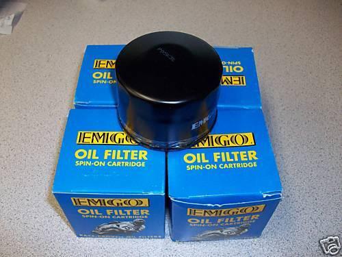 4 New Emgo Oil Filters For The 2001-2005 Yamaha Raptor YFM660 YFM 660 660R