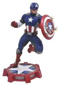 Diamant Select Marvel Gallery: figurine Captain America de 23 cm
