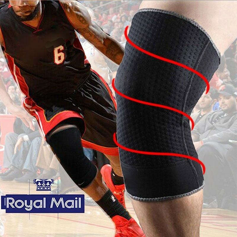 Breathable Brace Knee Support Pad Guard Protector Sports Pain Injury Prevention 1