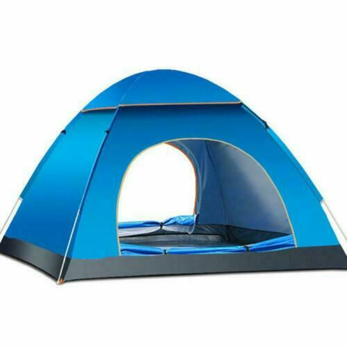 Waterproof 3-4 Person Camping Tent Automatic Folding Quick Shelter Outdoor
