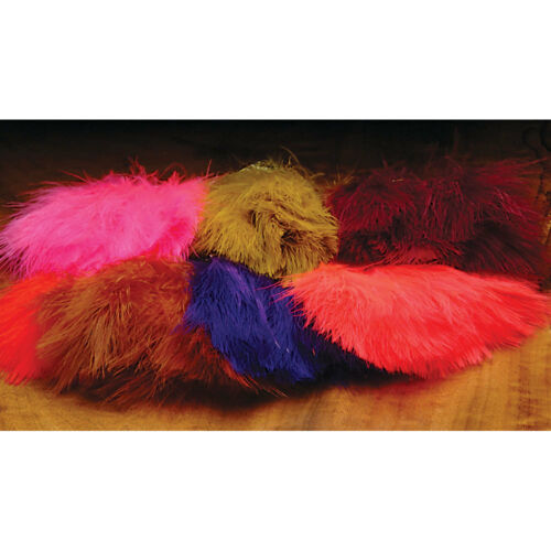 All Colors Hareline Marabou Strung Blood Quills