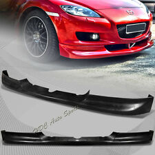 For Mazda RX 8 RX-8 SE3P Sport Black Front Lower Spoiler Bumper Lip Body Kit