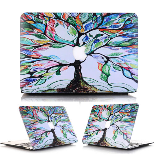 "3in1 World Map Galaxy Marble Matte Hard Case for MacBook PRO 13/"" 15/"" Touch Bar"