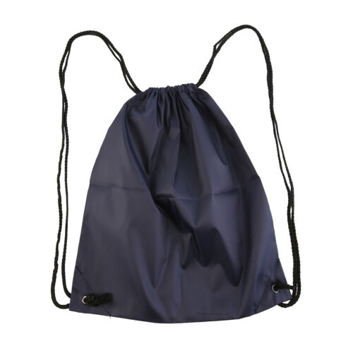 Premium School Drawstring Duffle Bag Sport Gym Swim Dance Shoe Backpack TQ