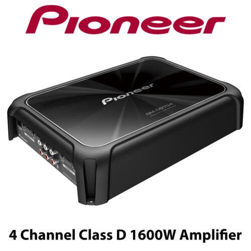 Pioneer GM-D9704-4 Channel Class D 1600W Amplifier Car Speaker Amp BNIB