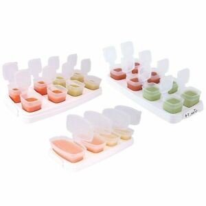 Happy-Mummy-Baby-Food-Freezer-Cubes-Size-1-2-3-Freezer-Microwave-Tray-Lids