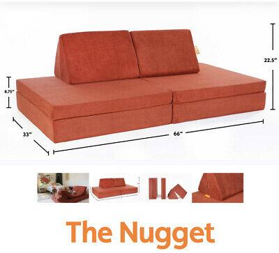 The Nugget Comfort Couch - Kids - Color: REDWOOD Limited ...