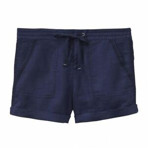 Joules Kat Linen Shorts Sz 10 14 16 French Navy Rp£49.95 Freeukp&p Shorts & Bermudas