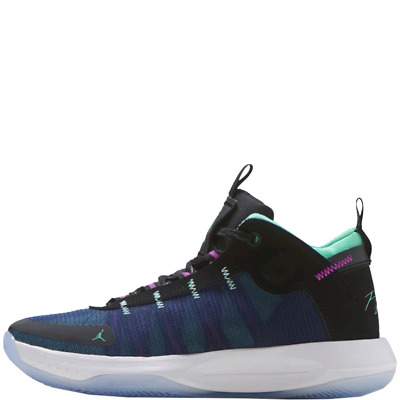 Jordan Jumpman 2020 Uomo Basket Scarpe Blu Medio Top da Ginnastica BQ3449 005 | eBay