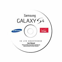 User Manual For Samsung Galaxy S4 Smart Phone (model Sch-i545) For Verizon On Cd