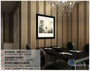 Das Bild Wird Geladen 10m Luxus Modern Gestreift Tapete Vliestapete TV Wand