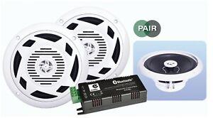 E-Audio-6-5-034-Bluetooth-Hogar-Bano-Cocina-Kit-de-altavoz-de-techo-2-X-30w