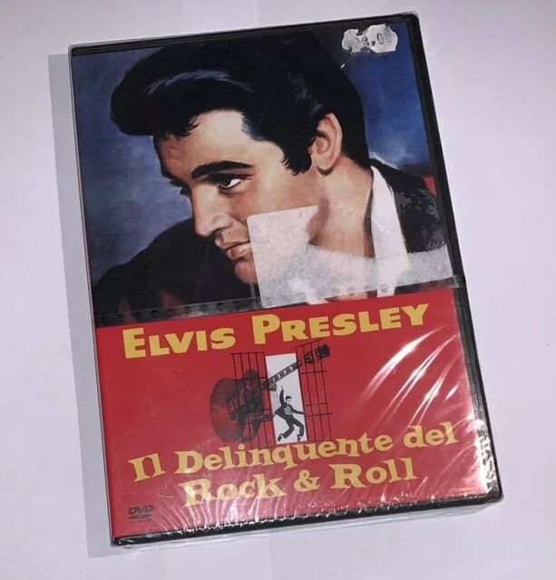 "ELVIS PRESLEY ""IL DELINQUENTE DEL ROCK & ROLL""RARO DVD EDIZ WARNER VENDITA-NUOVO"