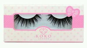 3ebd04f9169 Image is loading QUEEN-B-Lashes-GENUINE-false-eyelashes-Koko-Lady-