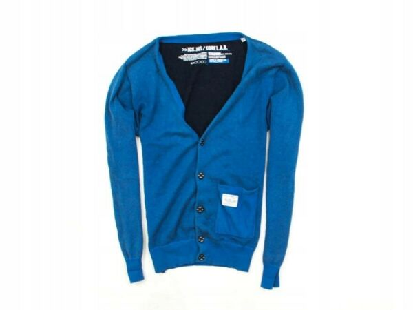 *g Jack Jones Mens Sweather Cardigan Blue Size M