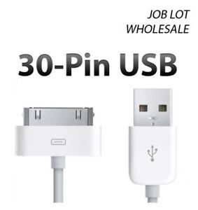 10x 1m 30Pin USB SYNC DATA CHARGER CABLE FOR iPhone 4 4S iPod  WHOLESALE - Hampshire, Hampshire, United Kingdom - 10x 1m 30Pin USB SYNC DATA CHARGER CABLE FOR iPhone 4 4S iPod  WHOLESALE - Hampshire, Hampshire, United Kingdom