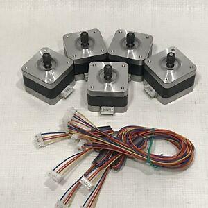 5-PCS-NEMA-17-Stepper-motor-Kit-12V-CNC-3D-printer-extruder-SURPLUS-DEAL-WOW