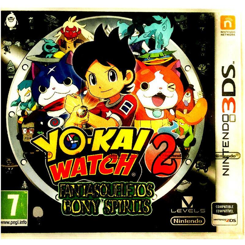 Yo-Kai Watch 2Fantasqueletos Bony Spirits Precintado 3Ds