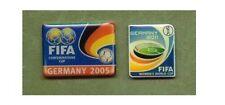 2 offizielle FIFA Pins Frauen WM 2011 & Confederations Cup 2005 DFB