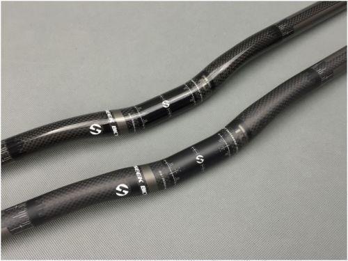 New Carbon Bicycle Handlebar MTB Mountain Road Bike BAR Riser Bar 25.4*580-620mm