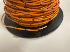 Wire Mil Spec Ptfe 14 Awg Stranded 12 Ft Orangeblack