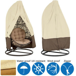 Terrific Details About Hanging Egg Swing Chair Cover Patio Hammock Dust Proof Snow Protector Waterproof Pdpeps Interior Chair Design Pdpepsorg