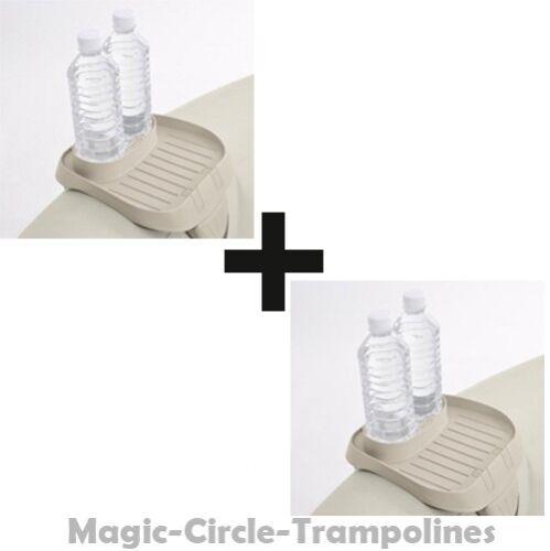 2x Intex Ablagetablett mit Getränkehalter 28500 für Pure Spa Whirlpools PureSPA