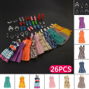 Jewellery Set For  Doll Dresses Shoes Clothes Decor Accessories Evening