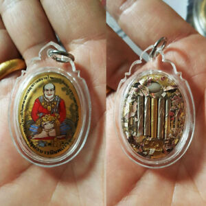 Rare Thai Amulet Charming Ngang bald wealthful Successful Love Oil BY Aj Kom