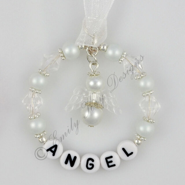 Personalised Baby Loss Angel Christmas Tree/Graveside Decoration/Keepsake