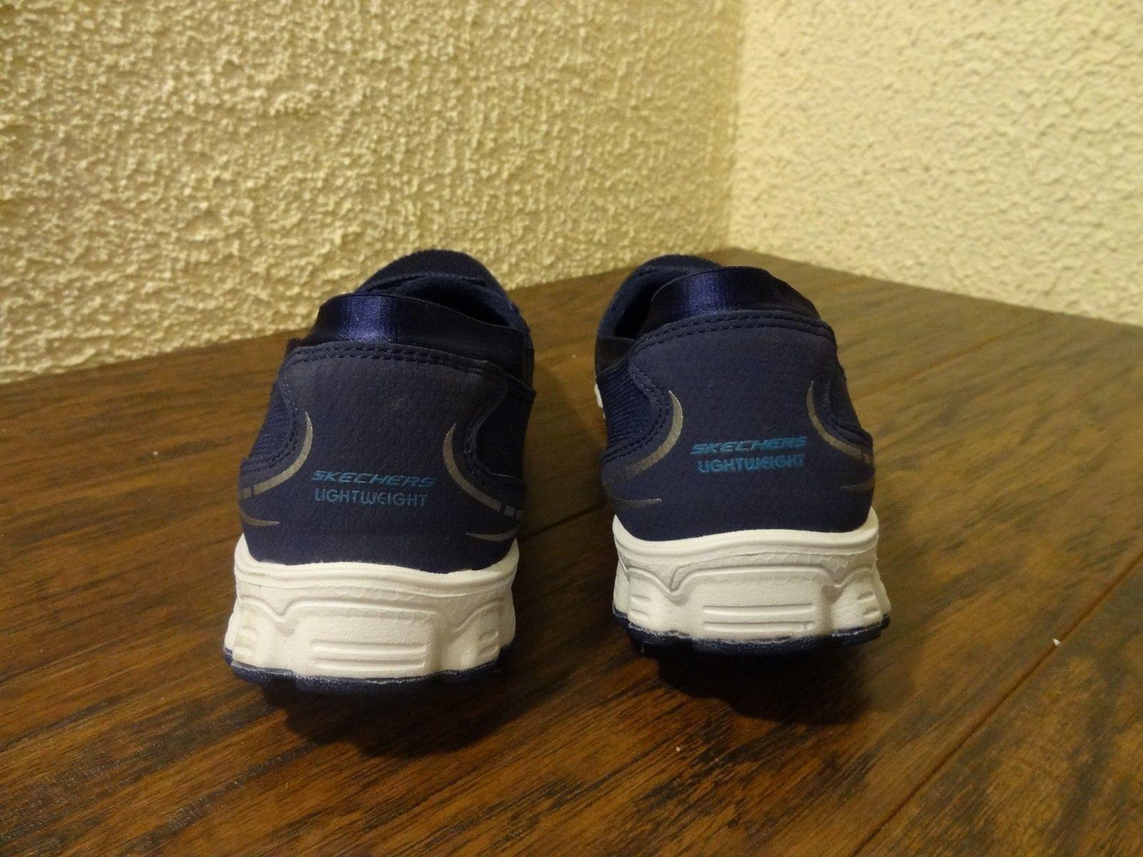 NEW Skechers 22636 EZ Flex Flicker Damens Größe 8.5 On Blau Foam Slip On 8.5 Casual Schuhe 9348f3
