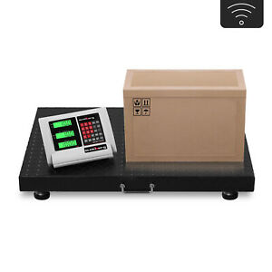 Industrial-Floor-Scale-Warehouse-Platform-Pallet-Scale-LCD-Wireless-1000kg-200g