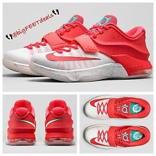 "$170 Nike Kevin Durant KD 7 ""Egg Nog"" Sz 14 Max Air BHM Pearl USA 8 9 Jordan"