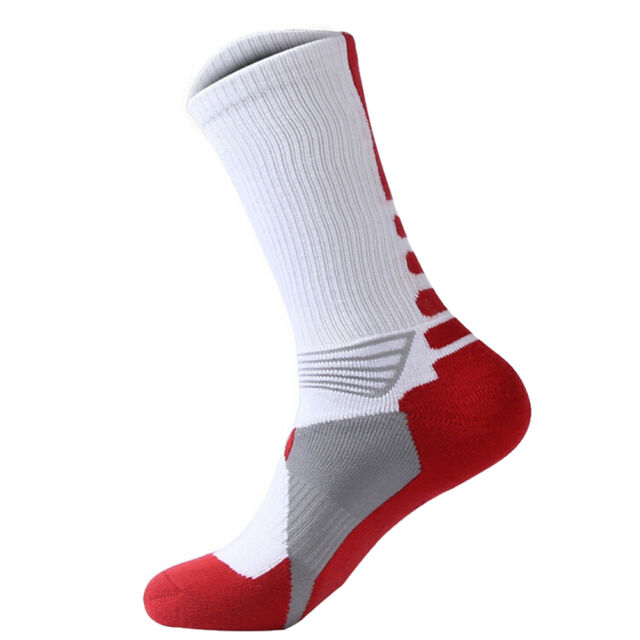 1X Men Women Riding Cycling Sports Socks Unseix Breathable Bicycle Footwear siLD