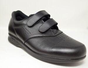 new sas vto mens 105 n casual walking shoes black leather